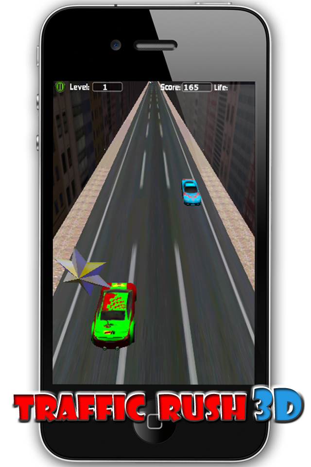 Traffic Rush 3D Lite